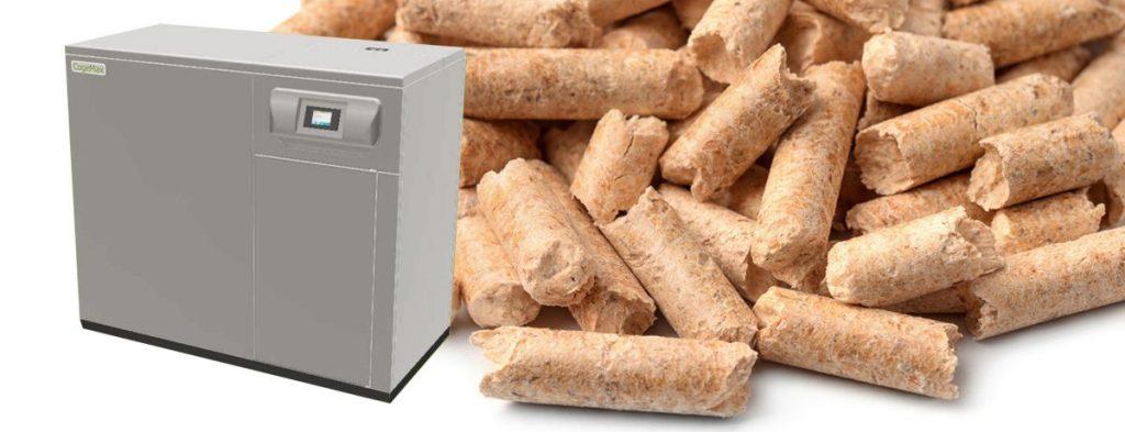 Instalación estufas pellet